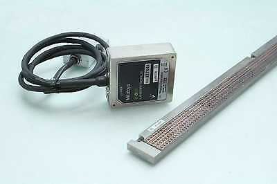 Mitutoyo ST744A Absolute Encoder Read Head w 1160mm Linear Scale Track