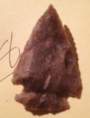 ARROWHEAD knapped stone North American Aboriginal Native Canadian Indian 18
