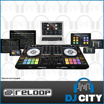 Reloop Mixon4 4-Channel DJ Controller for PC/MAC/iOS/Android w/ Searto DJ