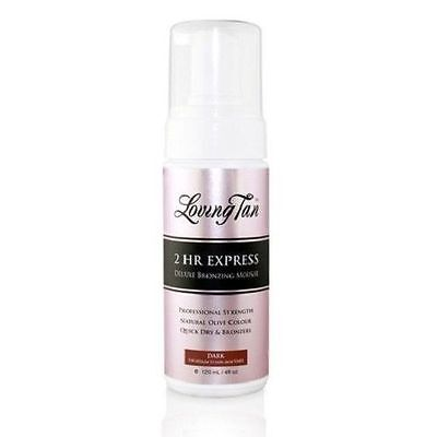Loving Tan 2 Hour Express Dark Self Tanning Mousse 120Ml