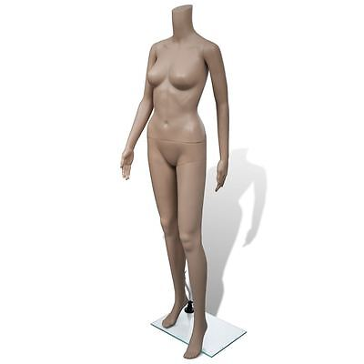 Adult Female Full Size Woman Headless Store Mannequin w/ Stand Display Clothes