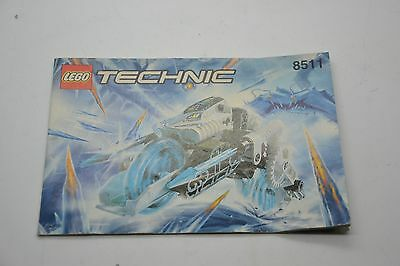 Lego Technic 8511 Instruction Manual Book Booklet Only