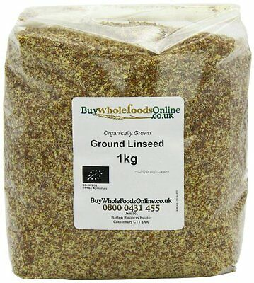 Buy Whole Foods Organic Ground Linseed 1 Kg • AUD 38.31
