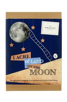 One Acre of Land on the Moon