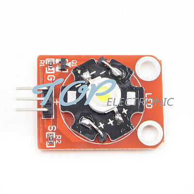 2 PCS 3W High-Power KEYES LED Module With PCB Chassis STM32 AVR For Arduino