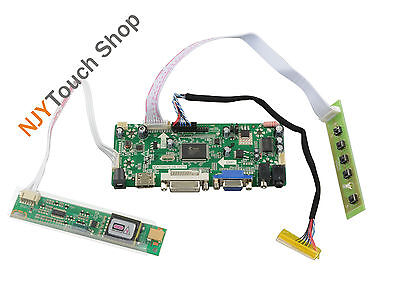Kit for 16 LTN160AT01 1366X768 LCD Panel Controller Adapter