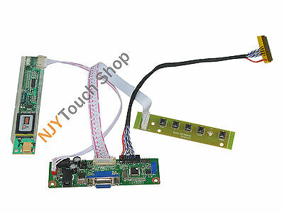 VGA LCD Controller Board Work for LP154WX4 LP154WX4-TLC1 LCD Panel