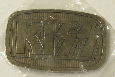 Kiss Square Logo Belt Buckle Official By Usa 2006 In Bag