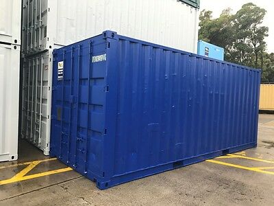 GREAT DEAL! 6m (20ft) USED SHIPPING CONTAINER