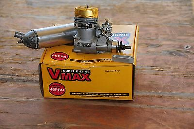 Glow motor for R/C airplane model VMAX 46PRO