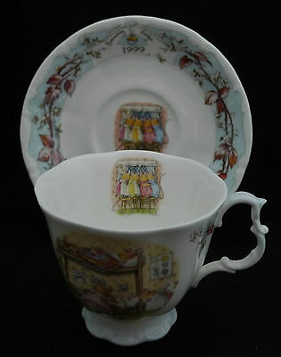Royal Doulton Brambly Hedge  1999 Teacup & Saucer Very Good Condition