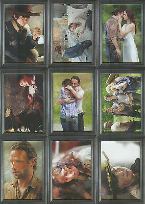 2014 Walking Dead Season 3 Part 1 90 Card Mini Master Set Base Prison Shadowbox