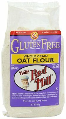 Bob s Red Mill Gluten Free Whole Grain Oat Flour 400 g  Pack of 4