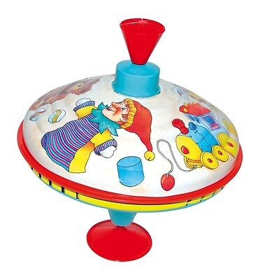 Spinning Big Top Humming Toy Merry Go Round House of Marbles