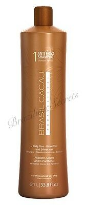 CADIVEU BRASIL CACAU SHAMPOO & CONDITIONER SET post BRAZILIAN KERATIN TREATMENT