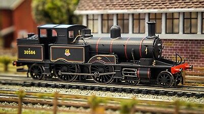 Hornby- R3333 Br Early Crest 4-4-2T Adams Radial Tank Locomotive 30584 '00'