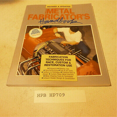 HP Books HP709 Reference Book METAL FABRICATOR'S BOOK