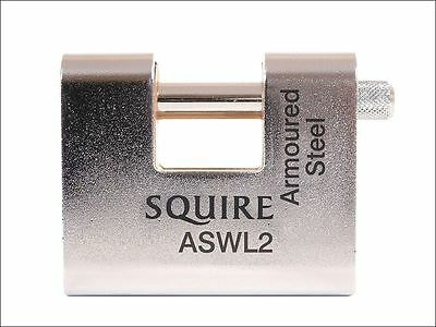 Henry Squire - ASWL2 Steel Armoured Warehouse Padlock 80mm