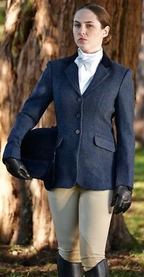 Dublin Cubbington Ladies Tweed Horse Riding Jacket Blazer ALL SIZES