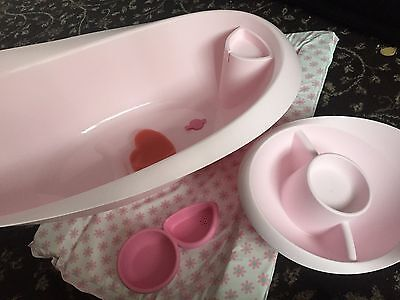 Mothercare Bath Set for Baby Girl + Extras