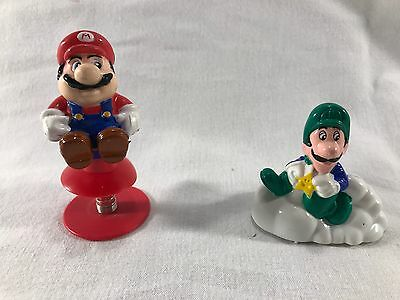 Vintage 1989 Super Mario Brothers toy McDonalds Nintendo of america INC PVC toy