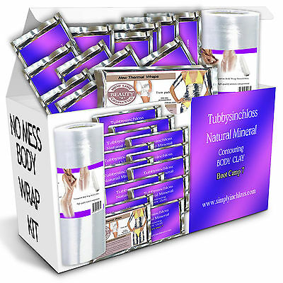 new kit special  12 inch loss body wraps HEAT RETAINING SARAN WRAP WEIGHT SILM