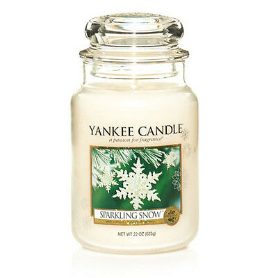 Yankee Candle Large Jar Scented Candle - Sparkling Snow