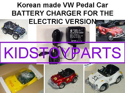 Vintage Battery Charger For Vw Volkswagen Beetle Bug Pedal Car Electric Version