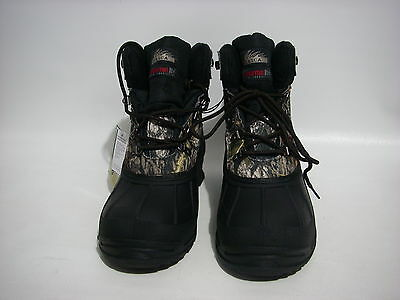 Itasca Camo Hunting Hiking Waterproof Boots Thermolite Mossy Oak SIZE 8 U.S.A.