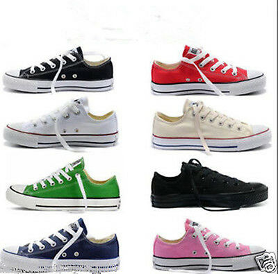 New ALL STARs Chuck Taylor Ox Low Top shoes casual Canvas Sneakers+GIFT