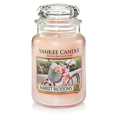 Yankee Candle Large Jar Scented Candle - Market Blossom
