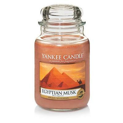 Yankee Candle Large Jar Scented Candle - Egyptian Musk