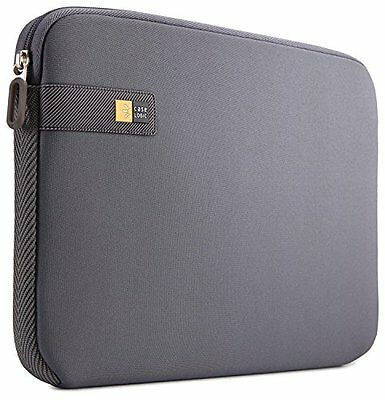 "Case-Logic LAPS-113 Sleeve in Neoprene per MacBook e Laptop da 13.3"", Grigio Gra"
