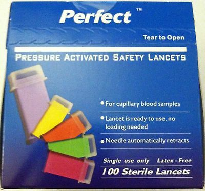 Safety Pressure One Time Use Lancets
