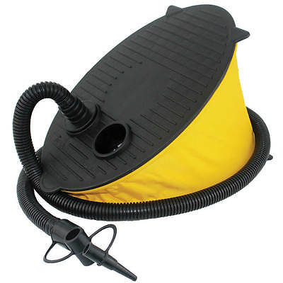 YELLOWSTONE 5 Litre Foot Pump For Airbed Toys Pools Camping