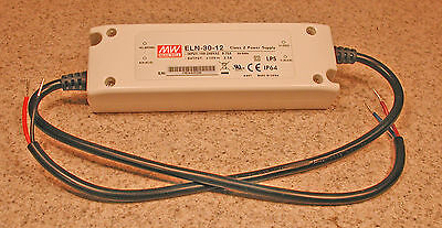 Mean Well MW ELN-30-12 DC Power Supply 12V  2.5A