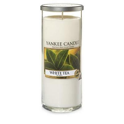 Yankee Candle Large Pillar Scented Candle - White Tea