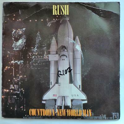 """Rush - Countdown New World Man - 7"""" Vinyl Single in Picture Sleeve"""