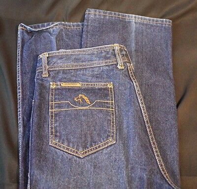VTG 1980's Jordache Jeans 100% Cotton 34 Long Made in Hong Kong Red Label