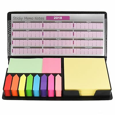 Sticky Memo Note Desktop Organizer Set Post Arrow Index Bookmark Removable Tab