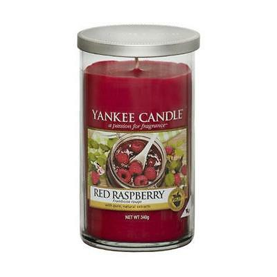 Yankee Candle Medium Pillar Scented Candle - Red Raspberry