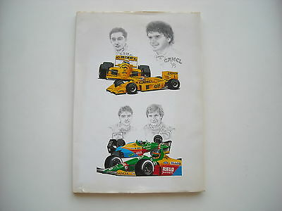 Camel - Book of the year 1988  in Formula 1 - Presentation of all teams