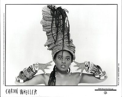 Caron Wheeler, STUNNING official 8x10 press photo! 1993, Soul II Soul singer