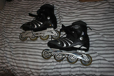 Bladerunner Men's Formula 82 Inline Skates - Black/Green, Size 9 UK 43 EU