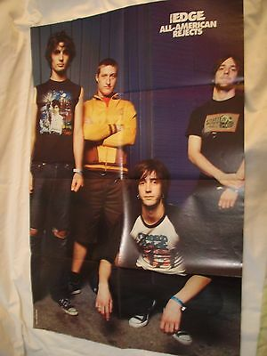 Huge Metal Edge Double Poster The Darkness & All American Rejects Huge Unused