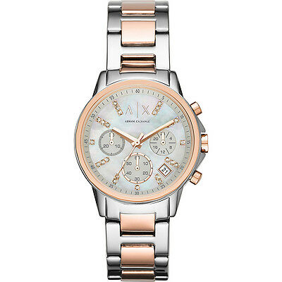 A/X Armani Exchange Smart Womens Chronograph Stainless Watche NEW
