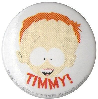 South Park Timmy 1 inch button badge Official