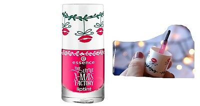 ESSENCE LE the little x-mas factory liptint (01 all i want for x-mas is you) OVP