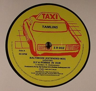"""TAMLINS/SLY & ROBBIE/THE TAXI GANG - Baltimore - Vinyl (12"""")"""