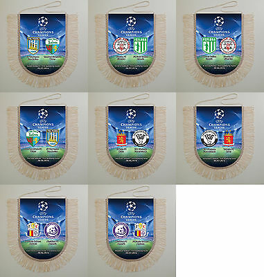 Football Pennants Champions League 2016 all match 1 First qualifying round UEFA